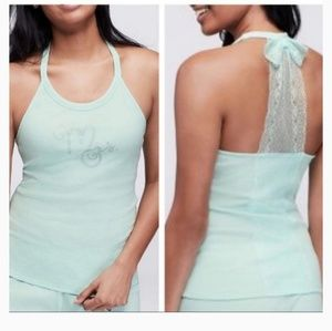 Betsey Johnson Bridal Lingerie halter Tank Top